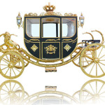 Outdoor-Decoration-Large-Sculpture-Golden-Carriage